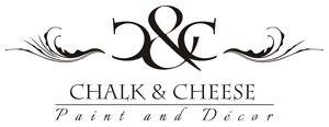 Chalk and Cheese Paint Logo